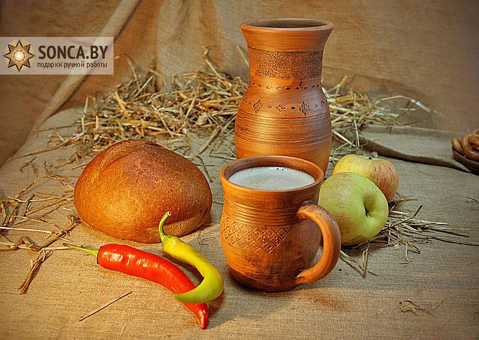 Традиционную посуду из глины изготавливают под Солигорском